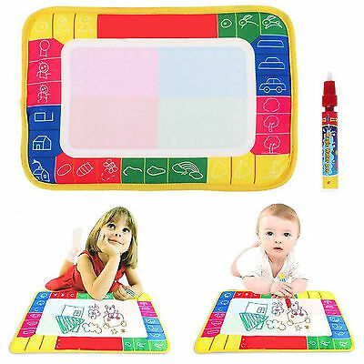 High Baby Toy Water Scrawl Mat Drawing Painting Magic Pen for Childrens Toddler