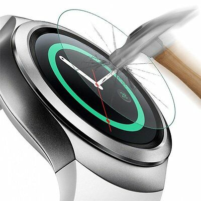 (3 Packs) Premium HD Tempered Glass Screen Protector For Samsung Galaxy Gear S2