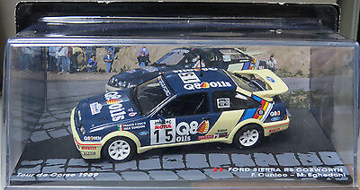 Ford Sierra Rs Cosworth Cunico / Sghedoni 1989 - Passione Rally 1:43 Ixo - #82