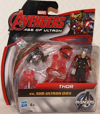 Hasbro B1486 - Avengers Age of Ultron - Thor vs. Sub-Ultron 005 Figuren-Set