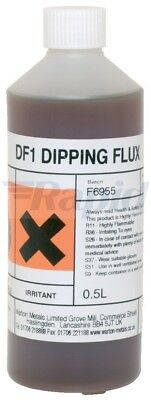 Warton Metals DF1 Rosin Activated Dipping Flux 37.5% 500ml