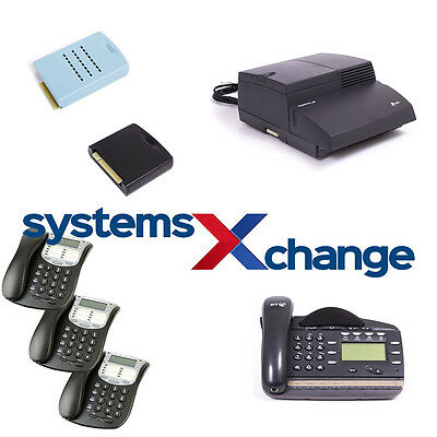 BT Versatility V8 Analogue Office Phone System for 2 Lines with 4 Telephones