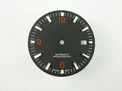 Dial for ETA 2836 ETA 2824 movement Planet Ocean style 31mm