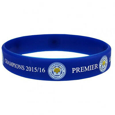 Leicester City F.C - Silicone Wristband (CHAMPIONS) - GIFT