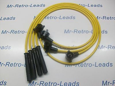 YELLOW 8MM PERFORMANCE IGNITION LEADS FOR THE FIESTA MKIV 1.3i 1.3 1.0 QUALITY