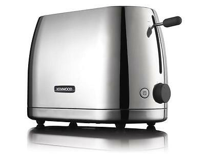 Kenwood TTM550 Turin Classic Elegance Polished Metal Finish 2 Slice Toaster New