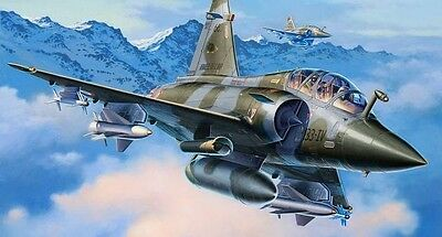 Revell 04893 -Dassault Mirage 2000D Aircraft Plastic Kit 1:72 Scale Tracked Post