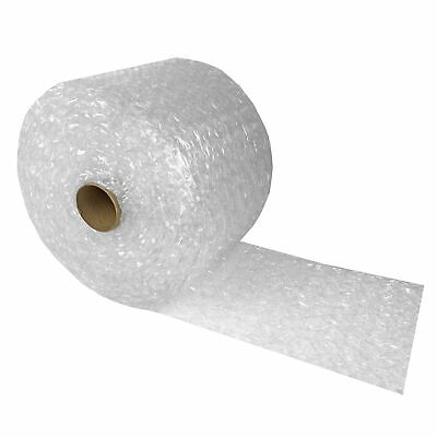 """Bubble Cushioning Wrap 12""""x65' Large Bubbles 1/2"""" Perforated every 12"""""""