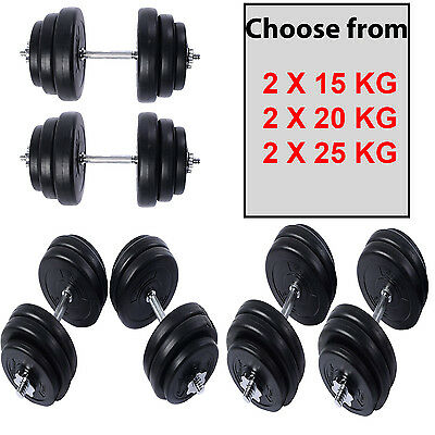 Surreal 30KG - 50KG Dumbbells Set Weights Training Lifting Gym Fitness Pair