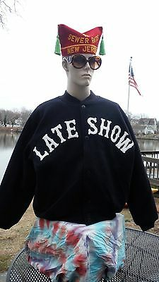 Authentic David Letterman Late Show 100% Wool Jacket-Brand New/never Used-Rare!!