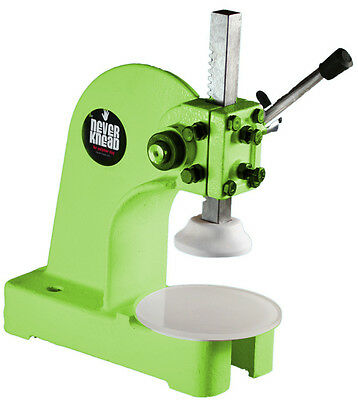 NEW POLYMER CLAY KNEADING MACHINE LIME - EASY FAST NEVERknead for Sculpey Kato