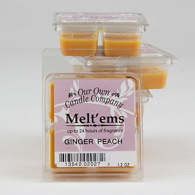 Our Own Candle Company GINGER PEACH Duft Melts 34g