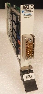 National Instruments NI PXI-2586 10 SPST Power Relay Module (191822B-01) §