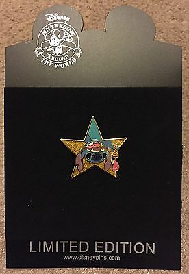Disney Shopping Hollywood Gold Star Series Stitch Ice Cream LE 1000 Pin NEW NOC