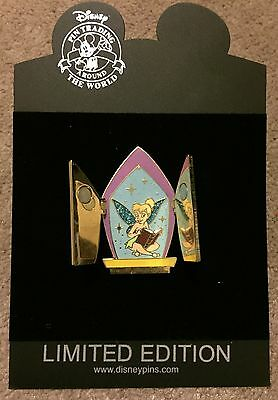 Disney Shopping Tinker Bell Hinged Window Doors LE 250 Pin NEW