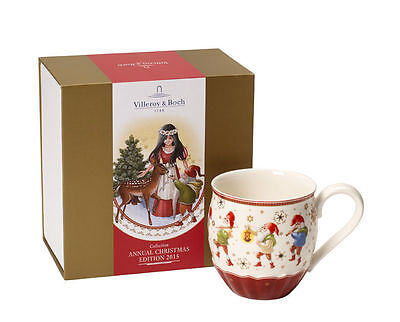 Villeroy & and Boch ANNUAL CHRISTMAS EDITION 2015 mug Snow White NEW BOXED