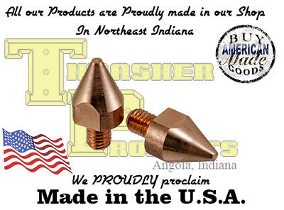 """Chicago Electric Fit Spot Welding Tips 1/8"""" Contact Area (FREE SHIPPING)"""