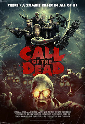 CALL OF DUTY Black Ops Call of the Dead Game Poster Easter Egg Zombies Silk