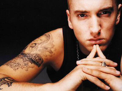 Eminem UNSIGNED photo - B1333 - Rapper, songwriter, record producer & actor