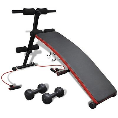 #bNEW Adjustable Multifunctional Ab Sit Up Bench Fitness Home Exercise Training