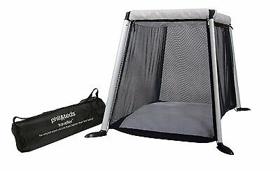 Phil&Teds Version 3 Traveller Crib Silver Free Slim Shady Sun Cover New Open Box