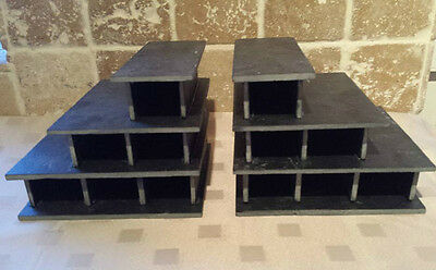 12 Caves in 2 Breeding slate cave set for bristlenose, pleco,L number,