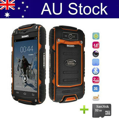 Outdoor Rugged Smartphone Dual SIM Mobile Phone Unlocked Discovery 4.0 Inch +32G