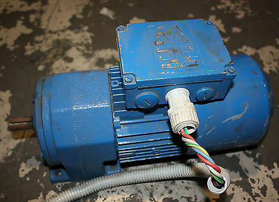 Sew-Eurodrive gear motor with brake .37kw 3 phase motor with 172 rpm gearbox