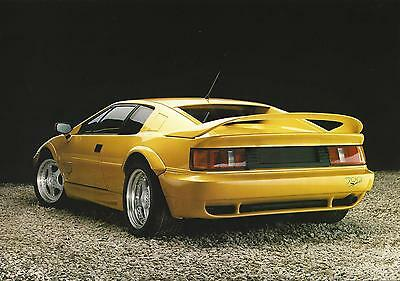 Lotus Esprit Sport 300 UK Specification Sheet Circa 1993 In Mint Condition