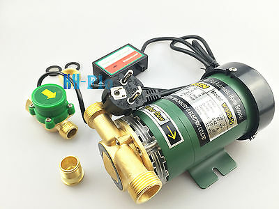 New 220VAC 260Watt Electronic Automatic Home Shower Washing Water Booster Pump