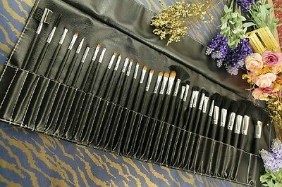 32pc KABUKI STYLE PROFESSIONAL MAKE UP BRUSH SET BLUSHER FOUNDATION FACE POWDER