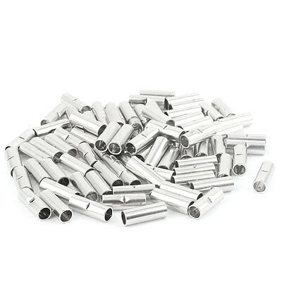 81Pcs BN5.5 Uninsulated Butt Connector Terminal for 12-10 AWG Cable Wire