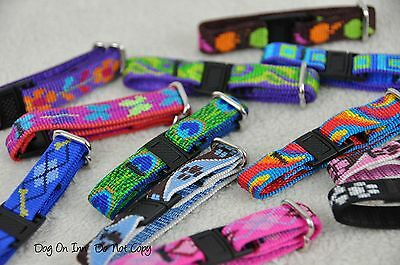 Lupine Whelping Collars. Set of 12 Puppy ID Bands. Adjustable, nylon, buckle