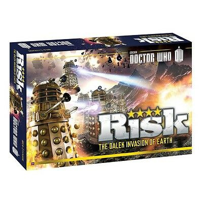 RISK Doctor Who Edition Board Game BRAND NEW & SEALED