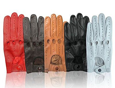 Men Top Quality Genuine Leather Driving Gloves Real Soft Leather Product