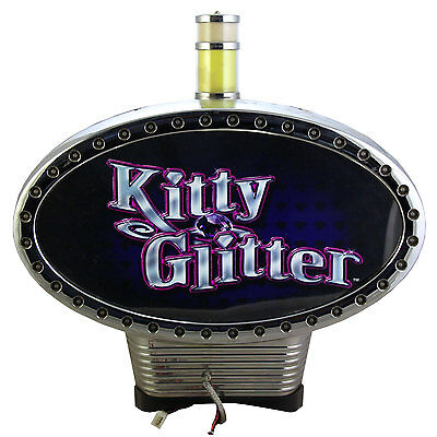 Topper IGT Kitty Glitter Round Base (M12790)