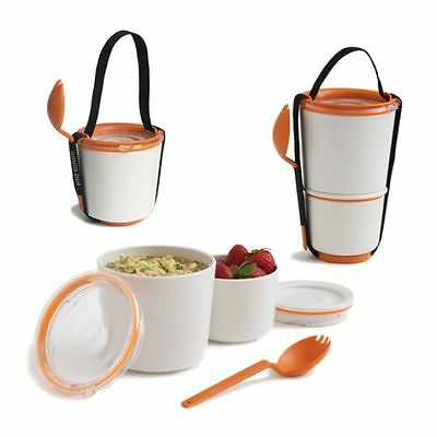Black + Blum Lunchbox Lunch Pot Orange