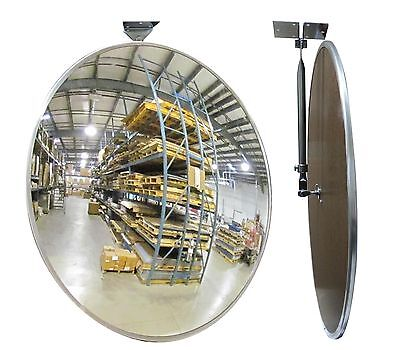 "#1 Industrial Rated 26"" Acrylic Indoor/Outdoor Safety & Security Convex Mirror"