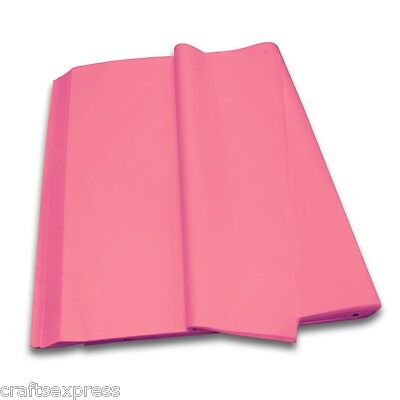 CERISE Coloured Tissue Paper Acid Free Sheets 750mm x 500mm