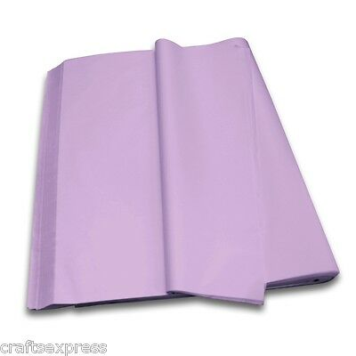 LILAC Coloured Tissue Paper Acid Free Sheets 750mm x 500mm