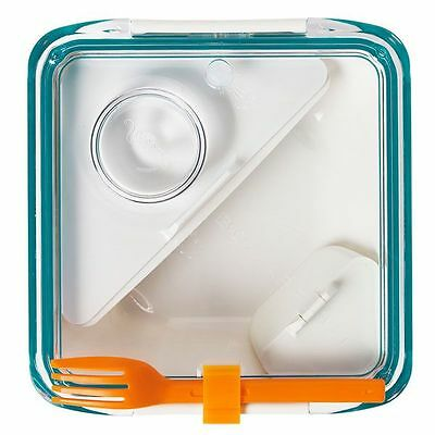 Black + Blum Lunchbox Box Appetit Blau-Orange
