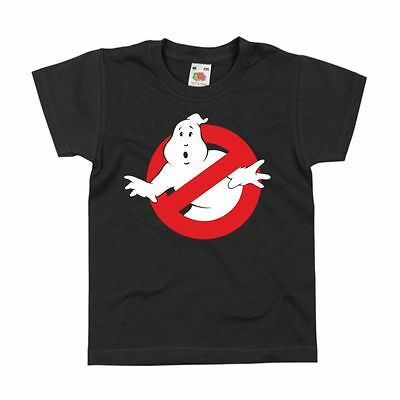 Ghostbusters Movie Inspired Funny Retro Sign Ghost Busters Fan Gift Kids Tshirt
