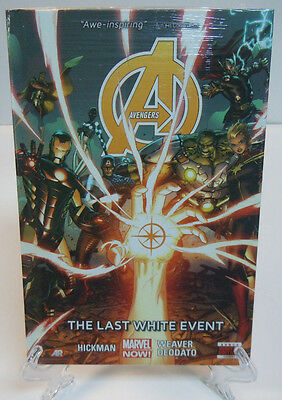 Avengers Volume 2: The Last White Event Hickman Marvel HC Hard Cover New Sealed
