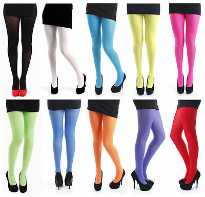 Top Quality Branded Unpackaged Coloured Black Natural Footed Footless Tights