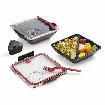 Black + Blum Lunchbox Box Appetit Schwarz