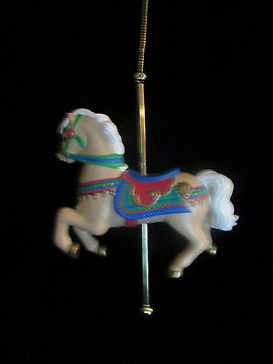 Carousel Horse Ornament Christmas Tree Holiday Circus Childrens Animal