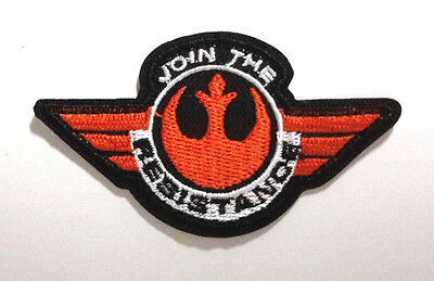 "Star Wars ""Join the Resistance"" Force Awakens 3"" Patch-FREE S&H (SWPA-FA-05)"