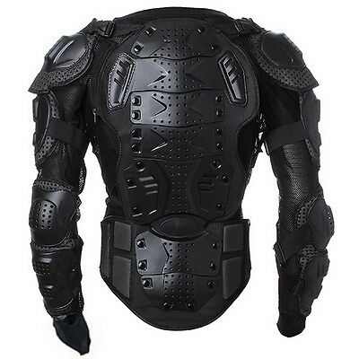 Motorcycle Motorcross Racing Full Body Armor Spine Chest Protective Jacket BG