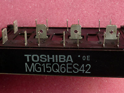 MG15Q6ES42 Toshiba IGBT MODULE HIGH POWER SWITCHING 15A 1200V