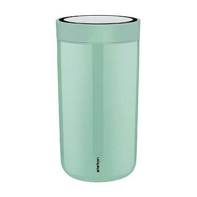 Stelton Thermobecher To Go Click Steel Moss Green (Mittel)